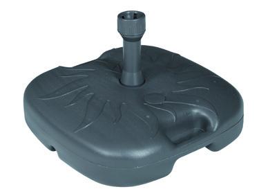 Vodou plnitelný stojan DOPPLER pro slunečníky 20 litrů antracit