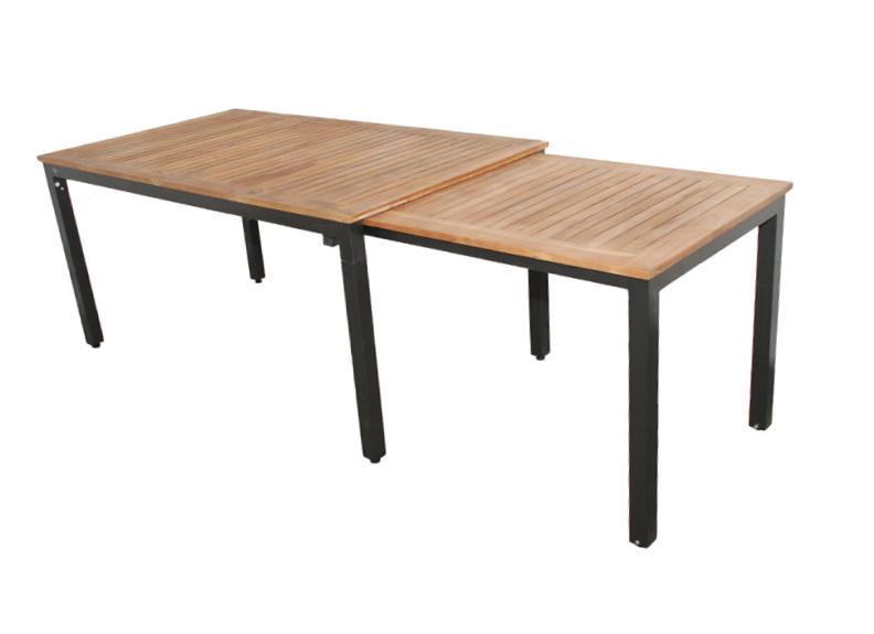 Stůl Tifosi teak rozkládací 160/280x90 cm Doppler