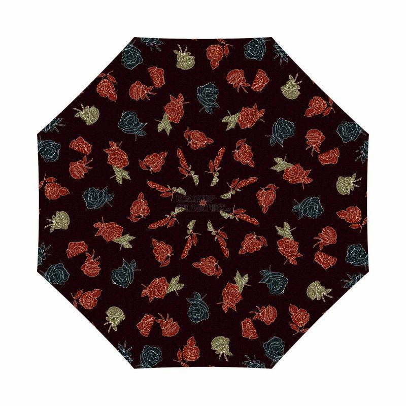 Dámský deštník Mini Fiber Modern Rose DOPPLER