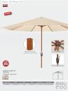 Slunečník Basic Lift Wood 350 Doppler