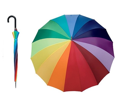 2c8f6577b67 Duhový deštník Golf Duha DOPPLER