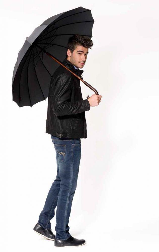 Pánský deštník London DOPPLER tmavě modrý